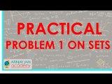 476.$ CBSE  Maths Class XI, ICSE Maths Class 11-   Practical problem 1 on sets