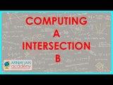 $ CBSE  Maths Class XI, ICSE Maths Class 11-   Computing A Intersection B