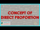 401.CBSE Class VIII, ICSE Class VIII - Mathematics- Concept of Direct Proportion CBSE, ICSE, NCERT