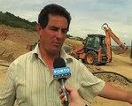 Bragança, população de Quintela de Lampaças corta acessos às obras na A4
