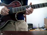 God Save the Queen on electric guitar (style of Queen's Brian May cover)