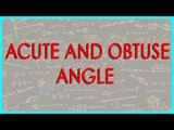 422.$ CBSE Class VI Maths,  ICSE Class VI Maths -   Acute and Obtuse Angle