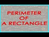 146-CBSE Class VI Maths,  ICSE Class VI Maths -  Mathematics Class VI - Perimeter - Rectangle