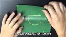 サンダーバード2号折り紙 折り方説明