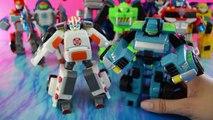 Transformers Rescue Bots toys Medix the Doc-Bot & Hoist the Tow-bot