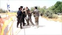 Israeli Police Beat & Arrest Asra Kadisha Protest Dig Graves