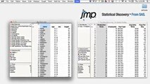 JMP® New User (6/37) - Altering a JMP sample data table to learn data preparation techniques