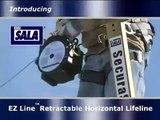 EZ-Line™ Temporary Horizontal Lifeline & Fall Protection System