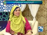 Noor-e-Ramzan (Ramzan Sehar Transmission) 13th July 2015