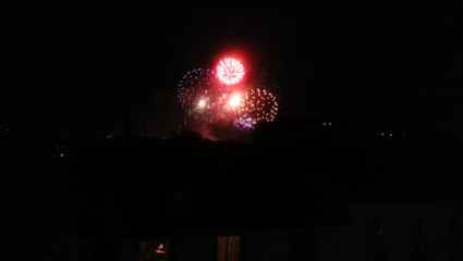14 Juillet, the Final ( from our Bed )