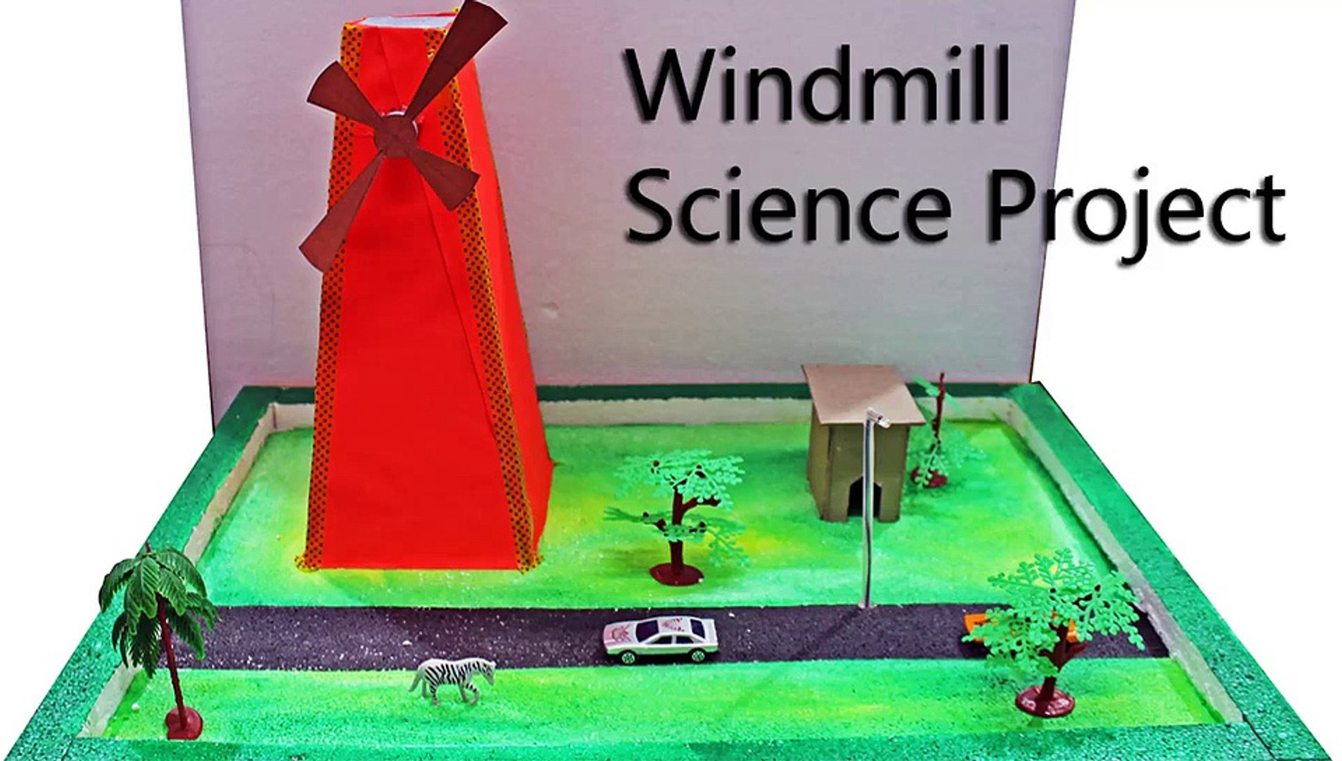 Windmill Model Science Crat Project S81 782 842 10