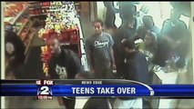 "Urban Youths Take Detroit Gas Station ""Hostage"" ~ ""Dis Bad Crew Gas Station"""