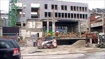 Charleroi : les travaux de la Porte des Arts - projet Phenix 5