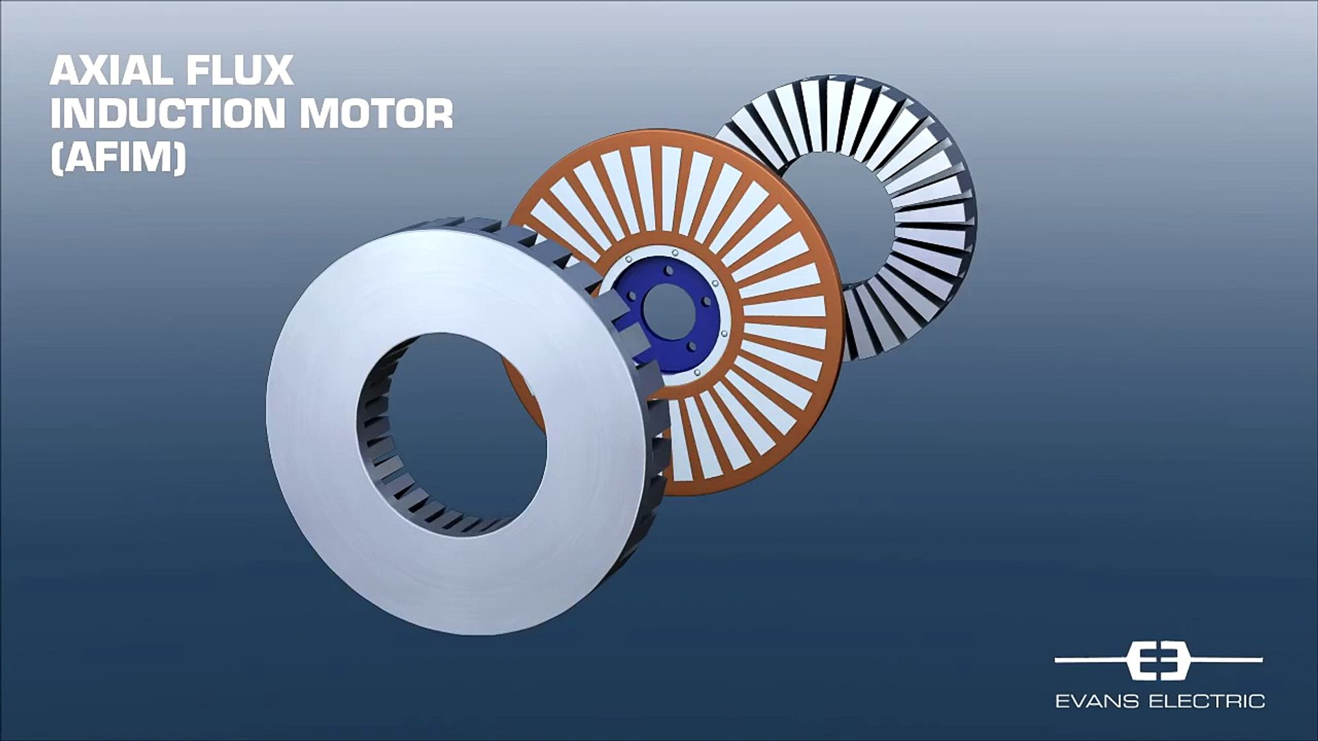 Axial Flux Induction Motor for Hybrid and Electric Cars