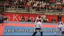 Preolímpico de Taekwondo -- Oscar Muñoz COL vs Heiner Oviedo CRC  - 58 Kg.