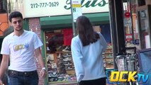 Asking Strangers for Food with Touching Ending (Social Experiment)