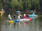 Water sport bike, water pedal bike, water pedal boat suppliers--Yiwu Xueming Vehicle Co.,LTD