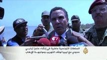 شاهد ماذا حدث اليوم في أشغال حفر الخندق بين الحدود التونسية الليبية