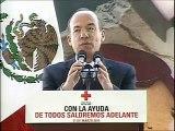 Colecta Nacional 2011 de la Cruz Roja Mexicana y Entrega de Ambulancias - Presidente Calderón