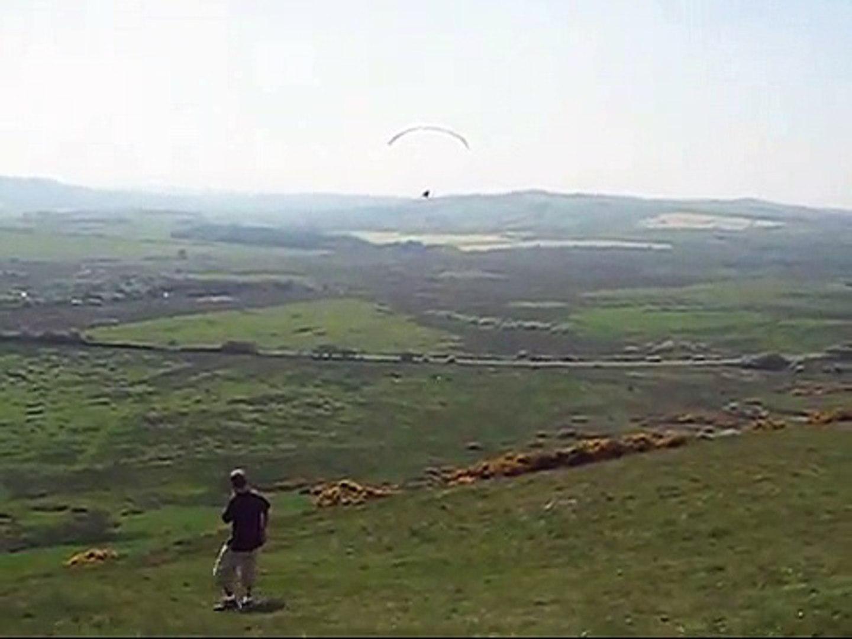 Wheelchair paragliding (para-paragliding)