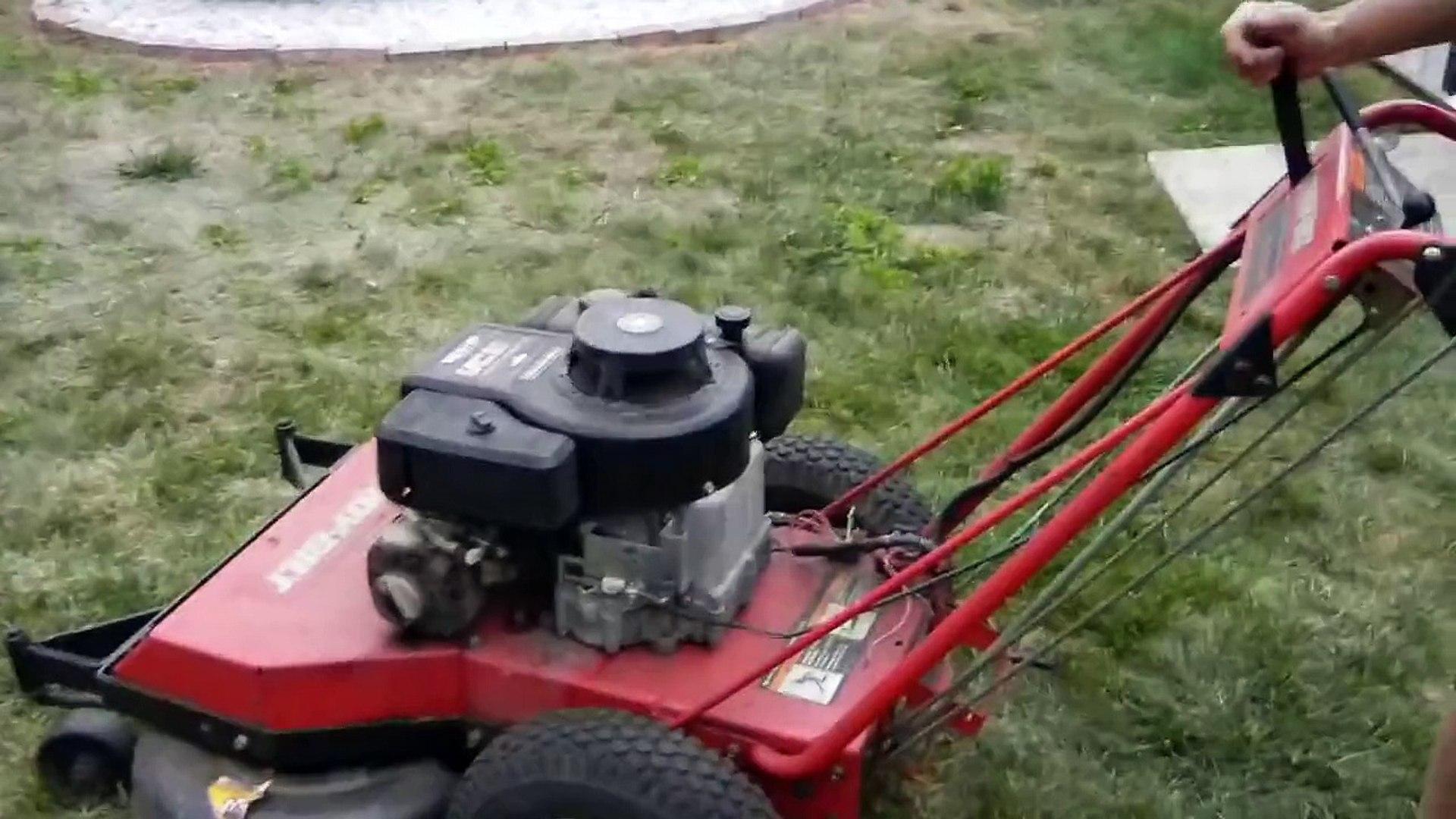 Troy Bilt 33 Combination Deck Self Propelled Mower