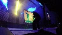 Speed Painter - Blacklight upside down Jesus