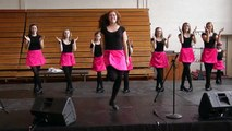 "The Nashville Irish Step Dancers perform their ""Treble Reel"" show number"