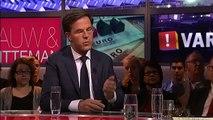 Mark Rutte (VVD): Hypotheekschuld Nederland ernstig