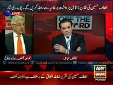 """Altaf Hussain and MQM are """"Urban Terrorists"""" - Khawaja Asif Full Interview in Off The Record"""