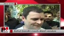 Rahul Gandhi meets street vendors in Delhi, assures all possible help