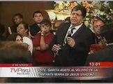 Alan García rindio homenaje musical a Jesús Vásquez