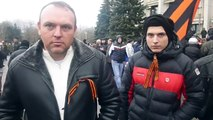 Odessa demo March 3 - Russia side 'We are all from Odessa'
