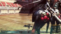 FINAL FANTASY TYPE-0 HD : premier boss premier essai.