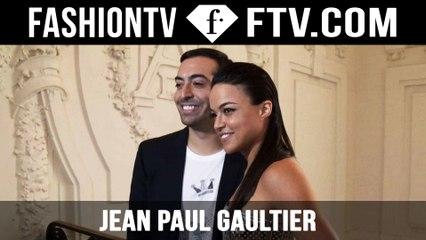 Jean Paul Gaultier Arrivals | Paris Haute Couture Fall/Winter 2015/16 | FashionTV