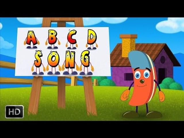 ABC Song - Alphabet Song - Nursery Rhymes with Lyrics - Phonics Songs