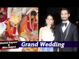 Shahid Kapoor & Mira Rajput | Full Wedding Story | Sangeet, Wedding, Reception