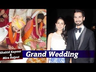 Shahid Kapoor & Mira Rajput   Full Wedding Story   Sangeet, Wedding, Reception