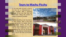 Explore The Vivacity of Machu Picchu on a Trekking Trip