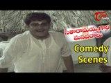 Seetharamaiah Gari Manavaralu Comedy Scenes   Back to Back   Akkineni Nageswara Rao  Meena