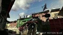 Motion blur in games - Modern Warfare 2 trailer w/ & w/o motion blur