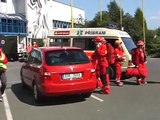 Resque Patrol 2009 - cvičný zásah na zimním stadionu v Příbrami