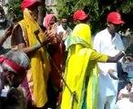 80 year old Jilla Bai from adivasi Ekta Parishad Rocks the Morcha !