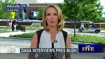 The Five: Dana Perino interviews George W Bush