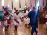 African Dance - Yoruba Bata freestyle at Nigerian Wedding