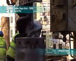 Casagrande B300 piling rig in rotary bored piling mode - piling rigs for sale, piling rig