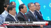 Korea's first public home shopping channel launched