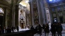 Interior of St. Peter's Basilica: Vatican City
