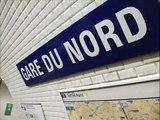 Paris Metro Line 5 ~ La ligne 5 du métro de Paris ~ Stalingrad ~ Jaurès Nov 2013