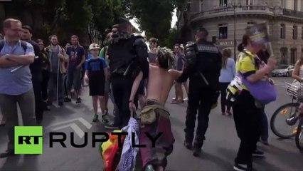 Paris : 20 contestataires arrêtés lors du défilé militaire du 14 juillet