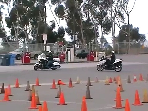 Victory Police Motorcycles and BMW Police Motorcycles